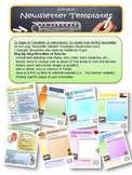Editable Newletter Templates