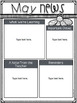 Editable Newsletter Bundle~ Monthly Newsletters & Kidlette Newsletters