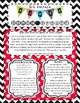 Editable Newsletter Template For Any Grade - Red, Black and White