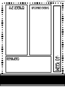 Editable Newsletter - Ink Friendly