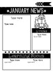 Editable Newsletter: Monthly Kids Themed