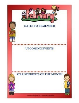 Editable Newsletter: Monthly and Parent Bundle