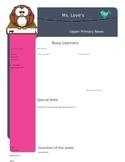 Editable Newsletter Template