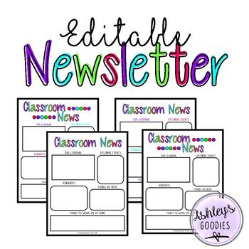 Editable Newsletter Template (vol.1)