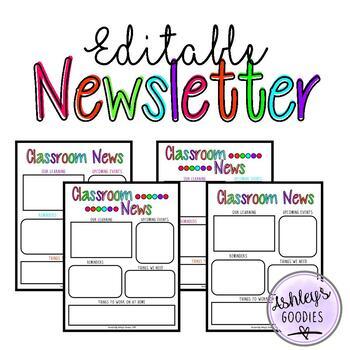 Editable Newsletter Template (vol.2)