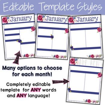 Editable Newsletter Template Farmhouse Classroom Decor