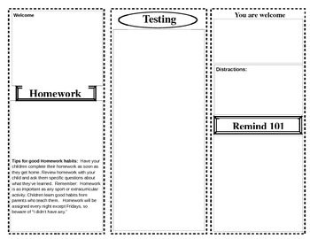 Editable Newsletter Template - Pamplet-style