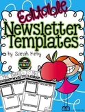 Editable Newsletter Templates