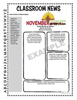Editable Newsletter Templates--60 Templates!
