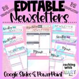 EDITABLE Newsletters | Editable Memos
