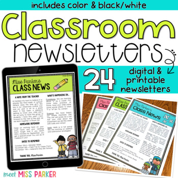 original-1541844-1 Teachers Pay Newsletter Template on