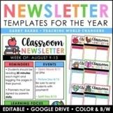 Editable Newsletter Templates | Google Slides