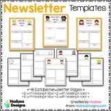 Editable Newsletter Templates - Hadasa's Kids Edition