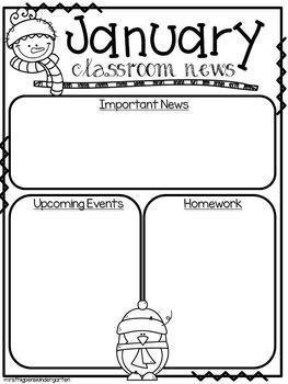 Editable Newsletter Templates--Pack #2