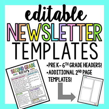 original-2722470-1 Teacher Weekly Newsletter Template Free on free printable preschool, fourth grade, downloadable classroom, for business,