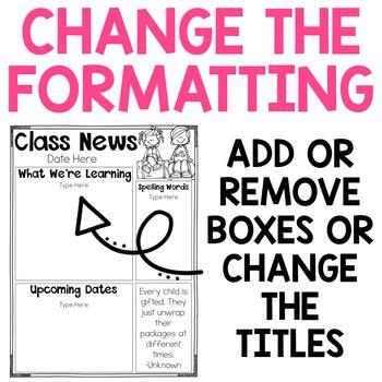Editable Newsletter Template {Over 110 Designs}