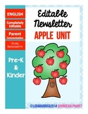 Editable Newsletters- Apples Theme