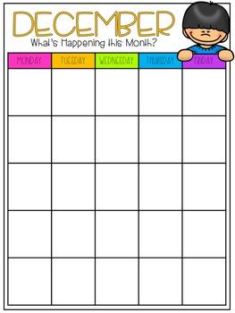 Editable Newsletters & Calendar Templates