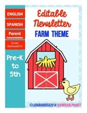Editable Newsletters- Farm Theme