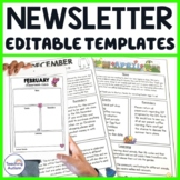 Editable Newsletter Templates for All Year