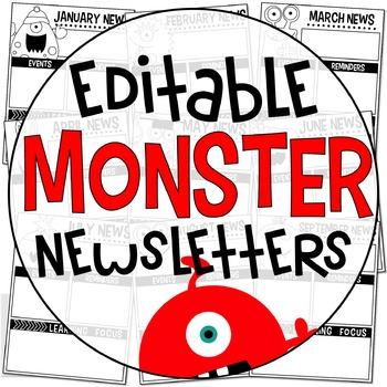 Editable Newsletters {Monster Edition}