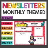 Editable Newsletters Templates