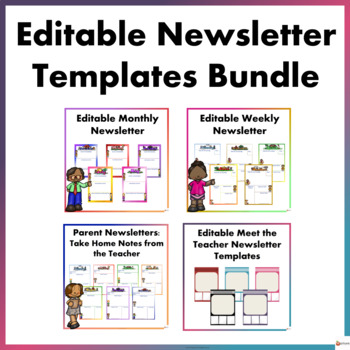 Editable Newsletters Templates Bundle