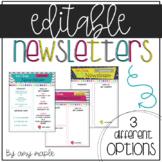 Editable Newsletters (The Sweetgum Set)