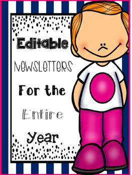 Editable Newsletters {freebie}