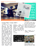 Editable Newspaper Syllabus Template