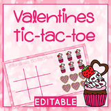FREE Editable No Print Tic Tac Toe Template - Valentines Themed - Google Slides