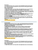 Editable Note Home 1st Week of School Kindergarten English