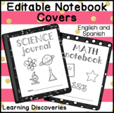 Editable Notebook Covers