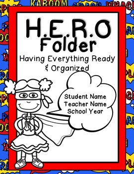 Editable Notebook & Folder Covers (Super Kids)