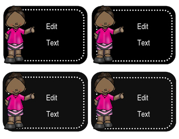 Editable Notebook Labels