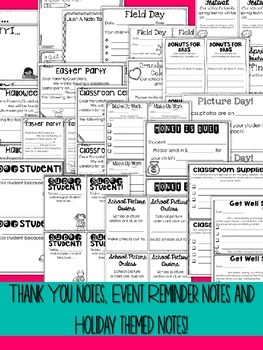 Editable Notes and Forms