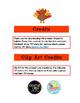 Editable November Newsletter Template for Preschool