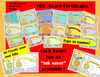 award certificates students sports editable with fast form fill in