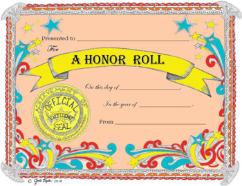 Award Certificates Students & Sports * Editable with Fast Form Fill-In!