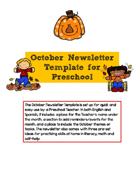 downloadable digital, for student, google free, elementary school, free community, december classroom, owl classroom, monthly classroom, free energy, parent weekly, on october pre newsletter template editable