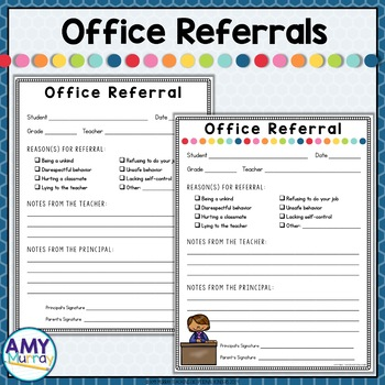 Editable Office Referral Forms