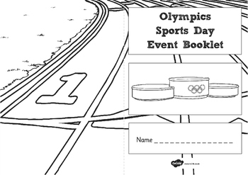 Editable Olympic Sports Day Event Booklet