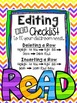 Editable One-On-One Reading Checklist