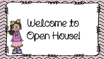 Editable Open House