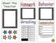 Editable Open House Brochure (Chalkboard Brights)