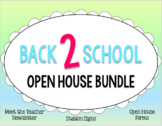 Editable Open House Bundle