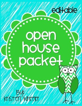 Editable Open House Packet