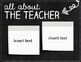 Editable Open House Powerpoint Template - Modern Chalkboard