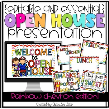 {Editable} Open House Presentation Essentials!