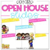 Editable Open House Slides